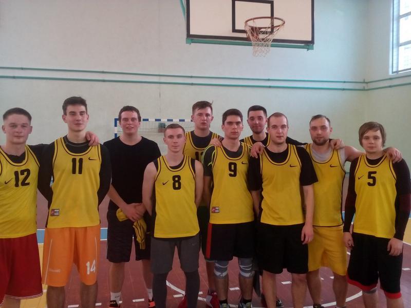 Сборная ГГТУ по баскетболу - бронзовые призеры соревнований