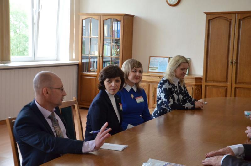 В ГГТУ имени П.О. Сухого обсудили вопросы сотрудничества с представителями России и Польши
