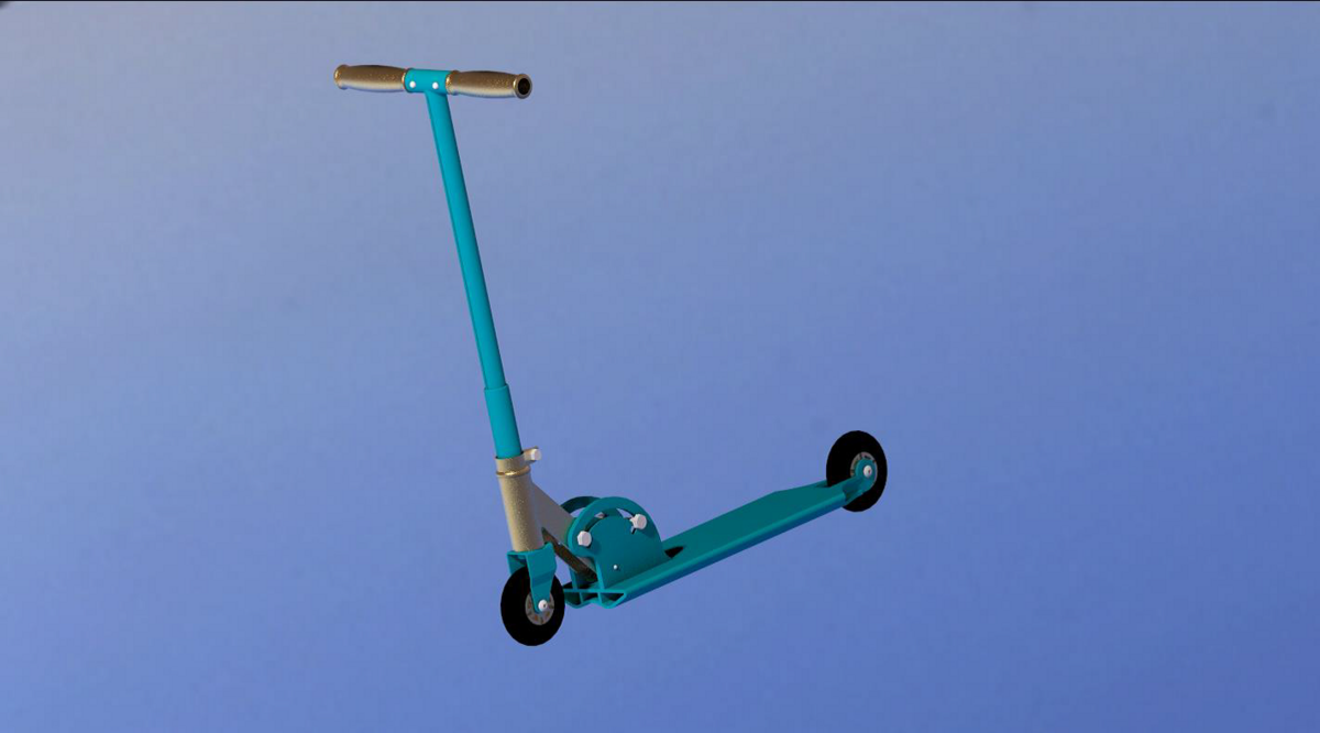 Рубрика: проекты конкурса 3D-Invention / Самокат