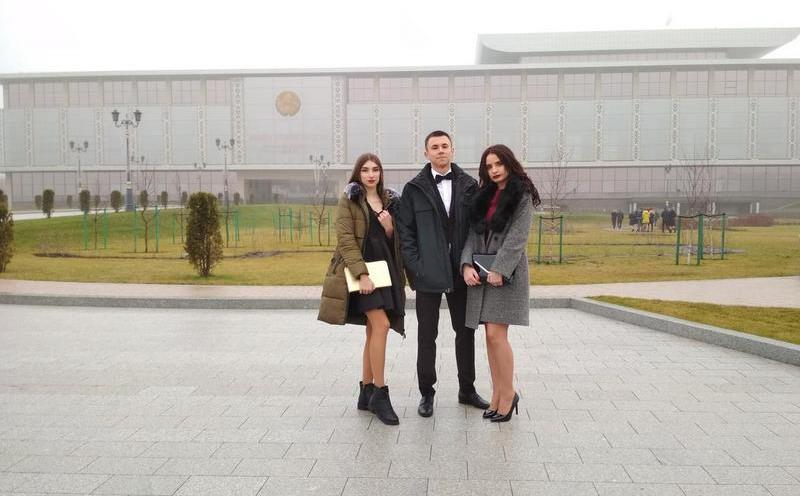 Студенты ГГТУ имени П.О.Сухого посетили новогодний праздник во Дворце Независимости
