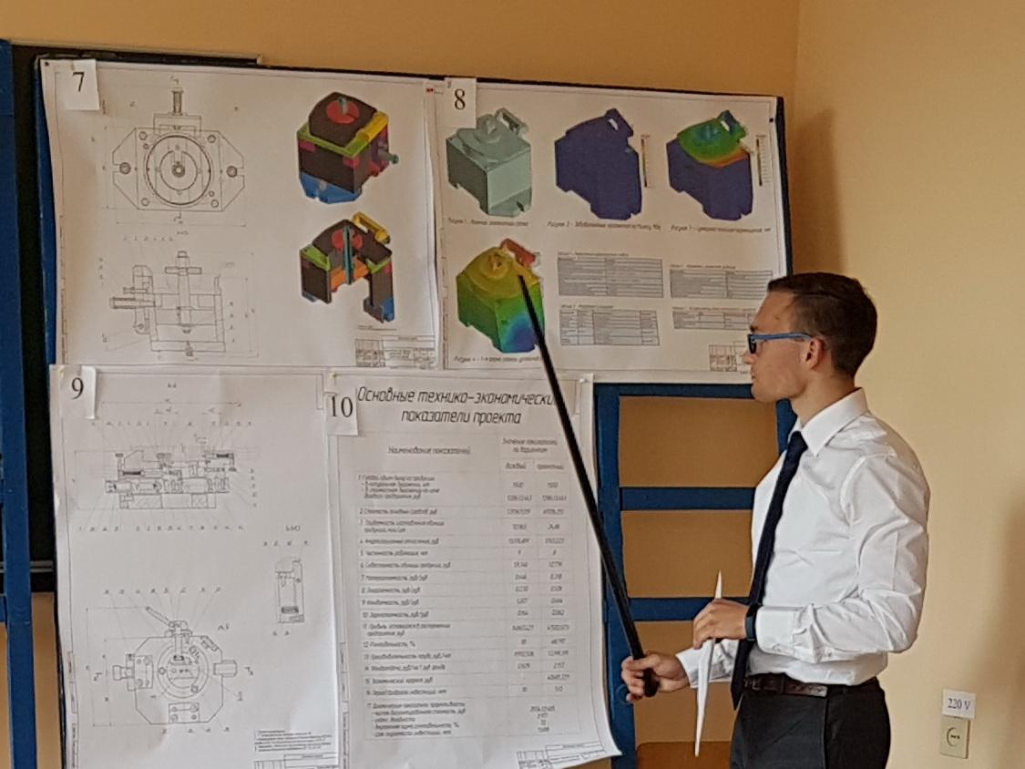 Защита дипломных проектов первого выпуска новой специальности 1-53 01 01 «Автоматизация производственных процессов»
