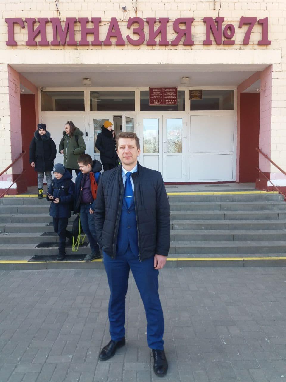 Мы пошли в школы)) Гимназия №71 г.Гомеля