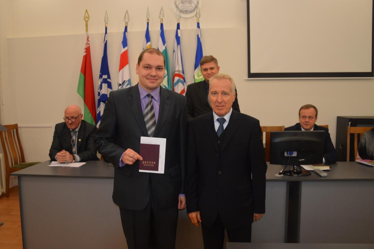 В ГГТУ имени П.О.Сухого состоялось вручение дипломов магистра технических наук