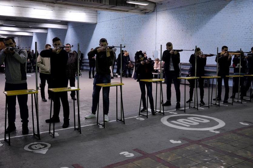 Студенты ГГТУ имени П.О. Сухого заняли I место в соревнованиях по стрельбе среди учащихся учреждений Советского района