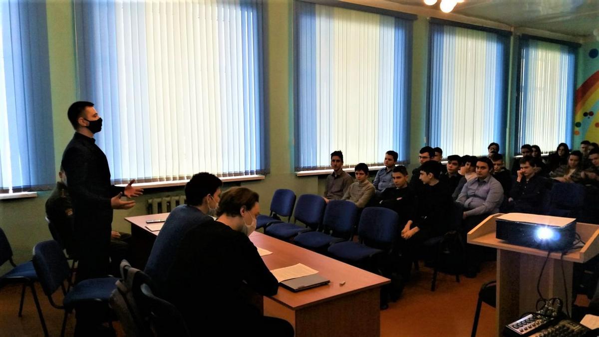 Встреча молодых учёных УО «Гомельский государственный технический университет имени П.О. Сухого» со школьниками