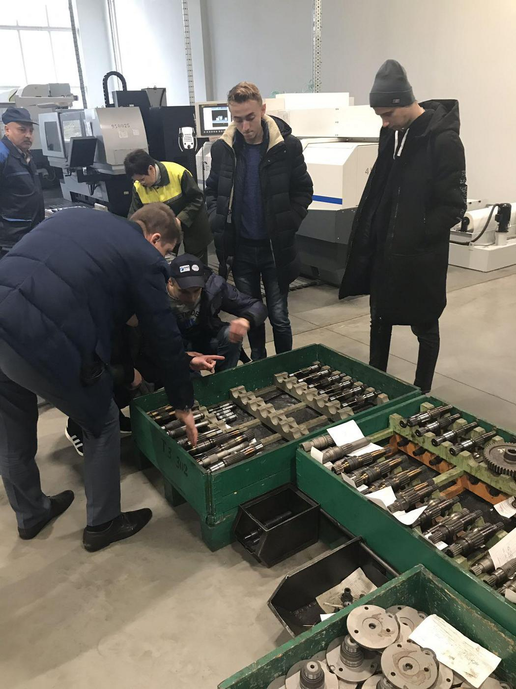 Машиностроительный факультет на ОАО «САЛЕО Гомель»