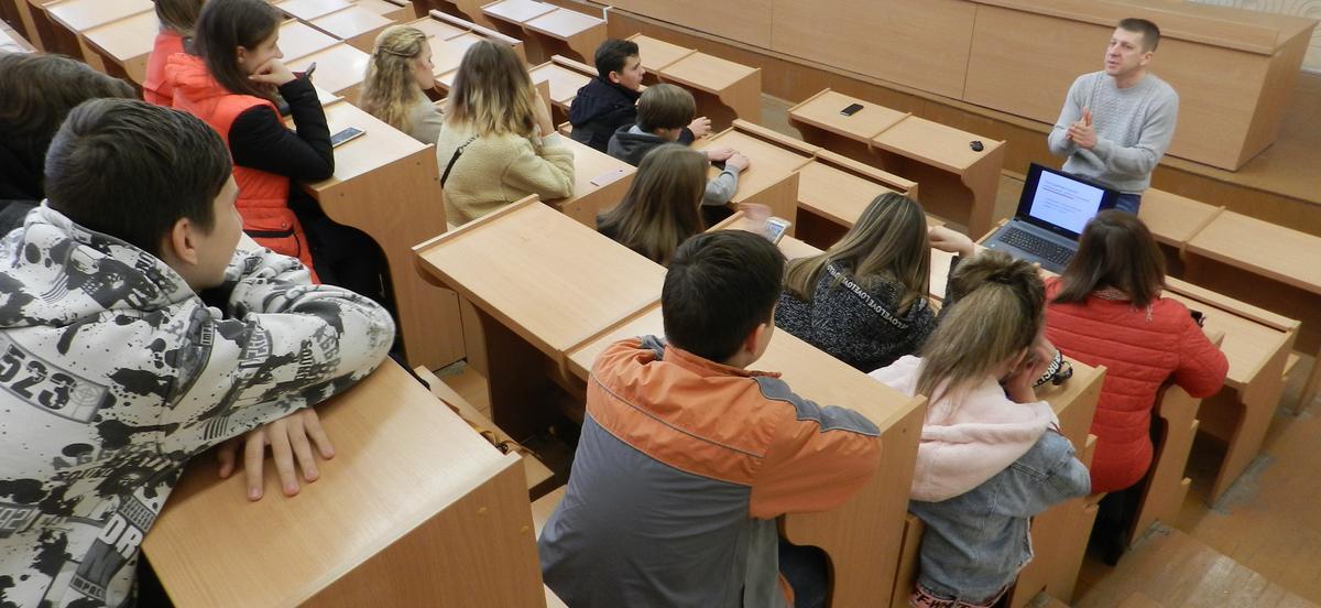 Машиностроительный факультет помогает школьникам определиться с выбором будущей профессии 3548