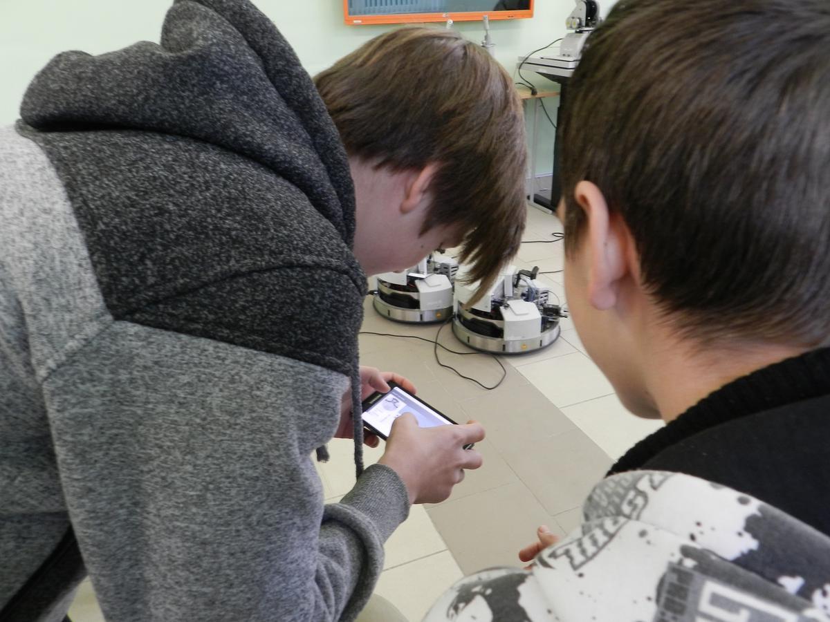 Машиностроительный факультет помогает школьникам определиться с выбором будущей профессии 3600