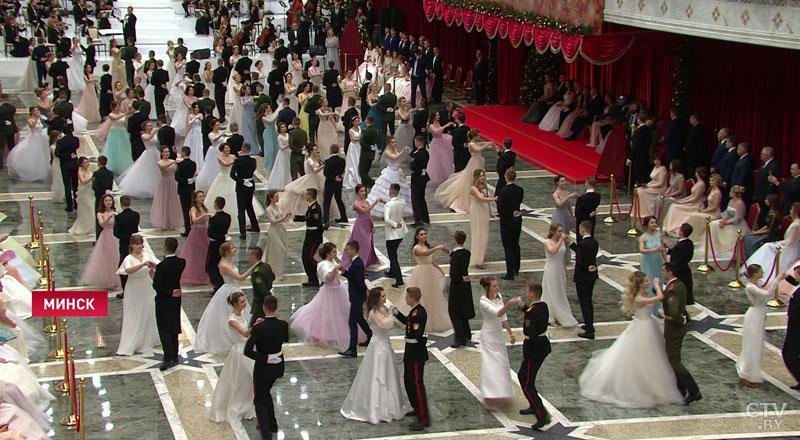 Студенты ГГТУ имени П.О.Сухого приняли участие в Новогоднем бале с участием Президента Республики Беларусь