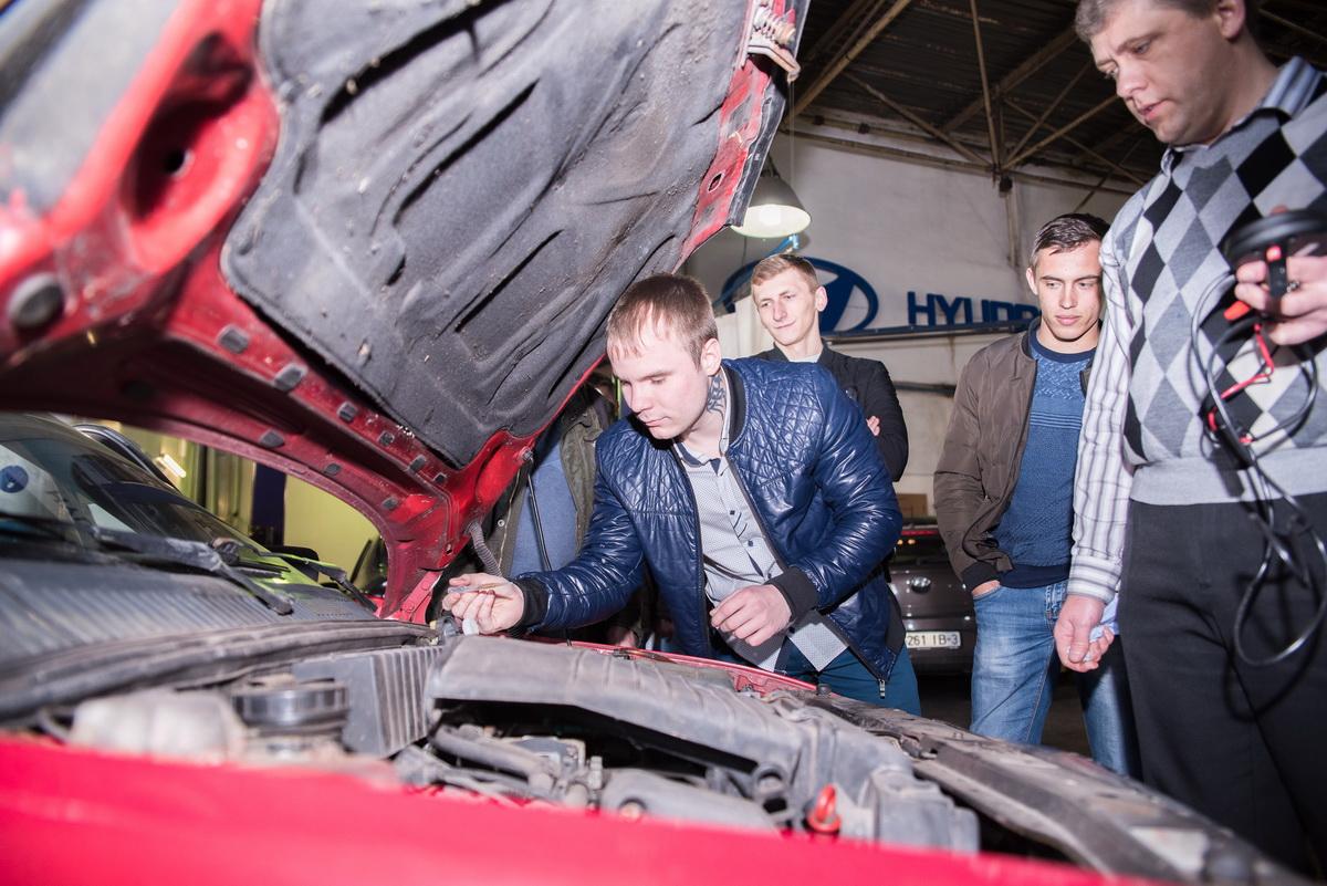Экскурсия на один из самых передовых автосервисов – Бош Авто Сервис - состоялась!