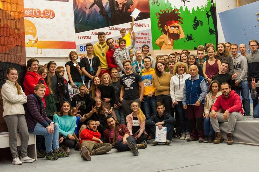 Наш студент занял 3 место в Кубке Республики Беларусь по скалолазанию